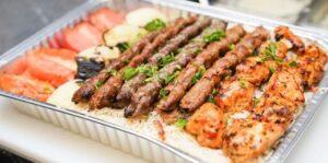 Mixed Kebab Tray