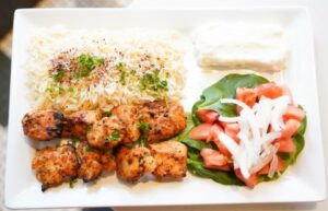 Shish Tawouk Plate